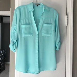 Express sheer blouse